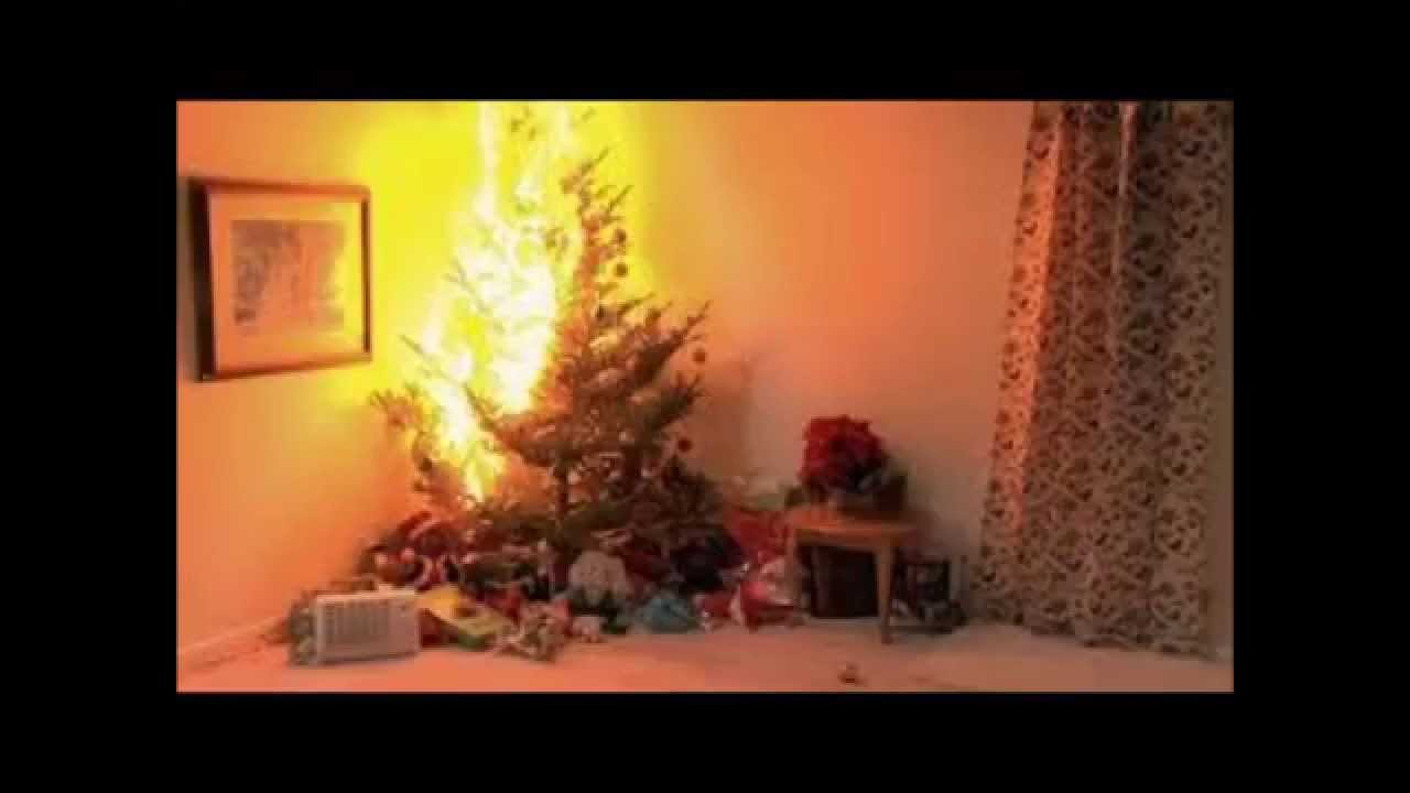 Holly Golightly Christmas Tree On Fire YouTube - Christmas Trees On Fire