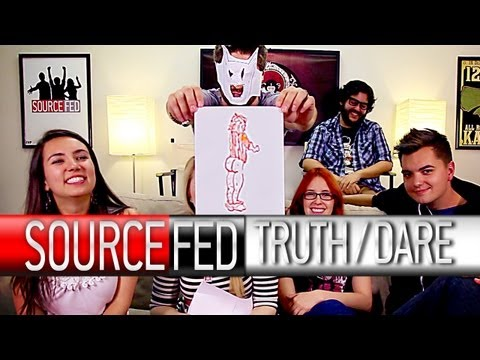 Truth or Dare: Creepy Smiles, 1-900-Blowies, & Batman! - SourceFed
