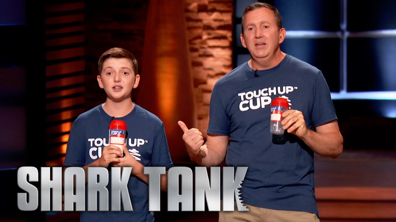 Download Shark Tank US   Father and Son Duo Pitch Their 'Touch Up Cup'