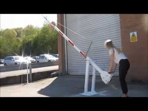 Manual Rising Arm Barrier By Avon Barrier Youtube