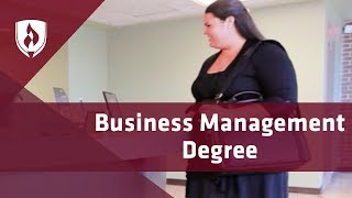 What Is Business Management Degree