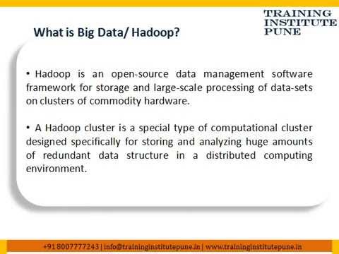 Big Data and Hadoop Classes in Pune | Training Institute in Pune