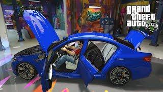 BMW M5 F90 В GTA 5 OASIS Fivem Реальная Жизнь ТОП Сервер