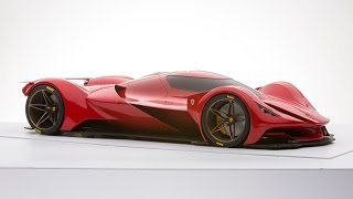 Future  Design of Ferrari Le Mans  by Marcello Raeli