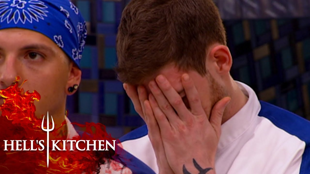 Losing Team Asks For Orders To Be Called Out Slowly | Hell's Kitchen