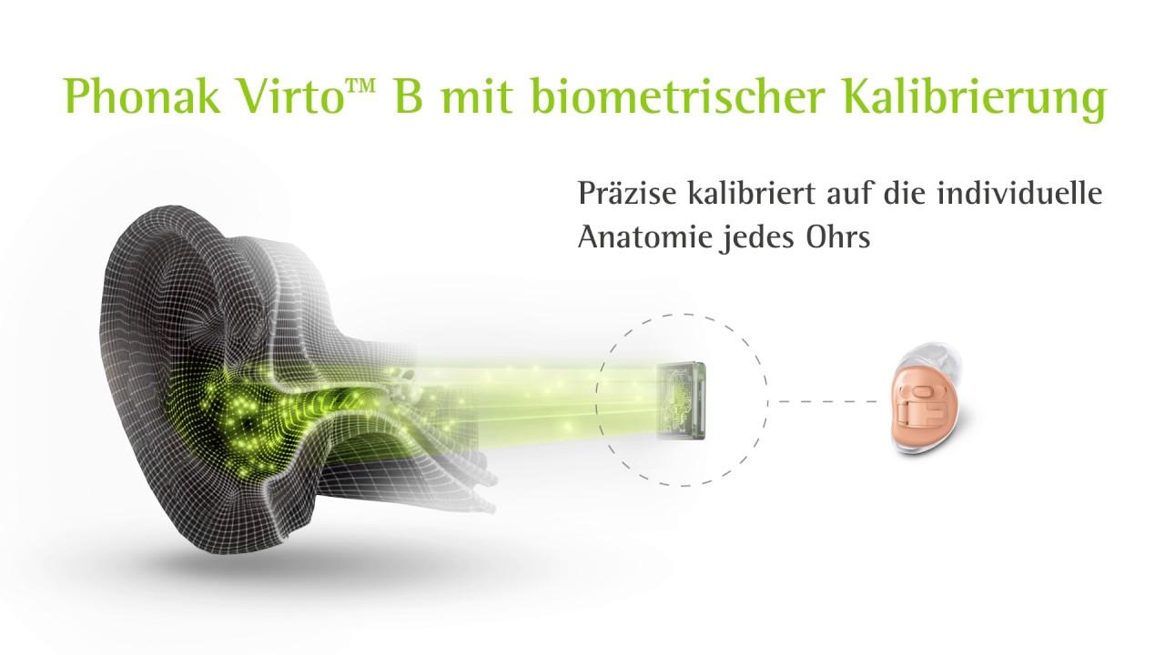 Infografik Phonak Virto™B - YouTube