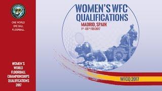 Women's WFCQ 2017 - UKR v CZE