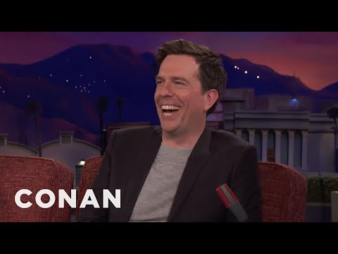 Ed Helms Bonded With Zach Galifianakis Over Their Hatred Of Sports   CONAN on TBS