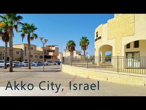 Walking In Akko City, Israel