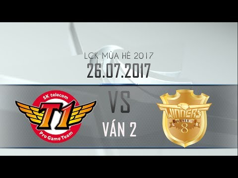 [26.07.2017] Ever 8 vs SKT [LCK Hè 2017][Ván 2]