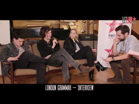 London Grammar dans Le Lab Virgin Radio - Interview !