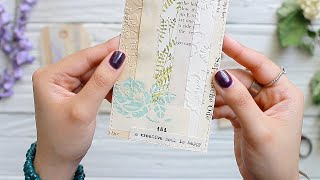 Piece By Piece | Collaged Paper & Tags