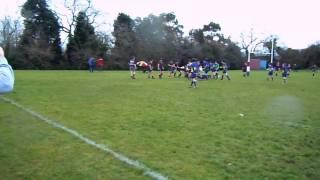 BHS 1st XV second try vs carrick grammar shools cup
