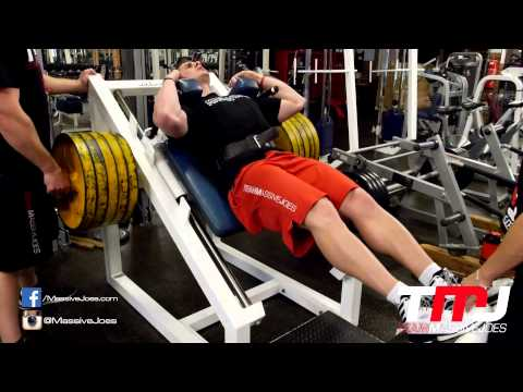 GYM - Quad Workout 15 Aug 2014   Powerhouse Gym Adelaide