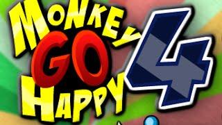 Hướng dẫn chơi game : Chú khỉ buồn 4 - Monkey Go Happy 4