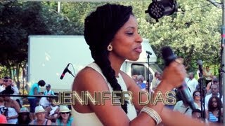 Jennifer Dias, podium radio Espace FM à Colombes, par Acetone CRESCENDO-MUSIC