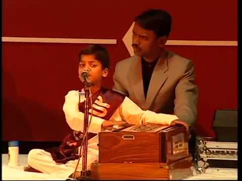 Ranjeet Rajwada at the age of 7 Singing Ghazal