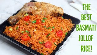 How to cook the perfect basmati jollof rice. Party style | COLLAB | Christmas menu!