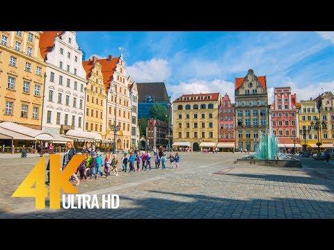 4K Wroclaw, Poland - Cities of the World | Urban Life Documentary Film