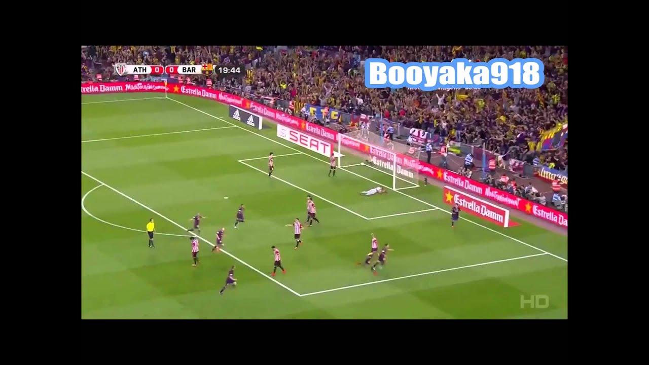 Lionel Messi Amazing Goal, Athletic Bilbao vs FC Barcelona ...