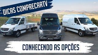 Mercedes-Benz Sprinter - Conhecendo as opções