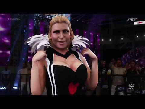 WWE 2K18 - 8 Women's Halloween Battle Royal