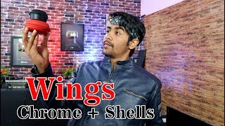 Wings Chrome + Shells | Best Earbuds & Earphones For You