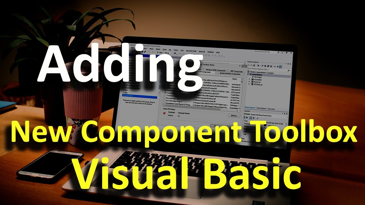 Adding New Component ToolBox Visual Basic