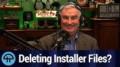 Is it Safe to Delete Installer Files in Windows?