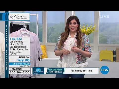 HSN | Hillary Scott Fashions . http://bit.ly/2Xc4EMY
