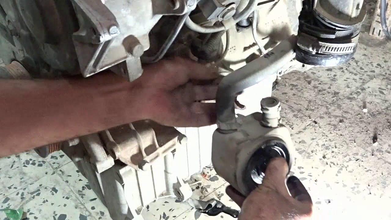 مبرد زيت المحرك اختلاط الزيت بالماء Youtube