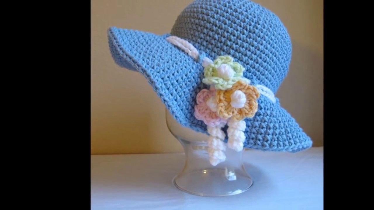 Fantástico Sombrero Del Ganchillo Para El Patrón De Las Mujeres ...