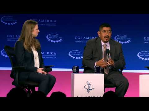 The Map of Making it in America: Panel Discussion – CGI America 2015