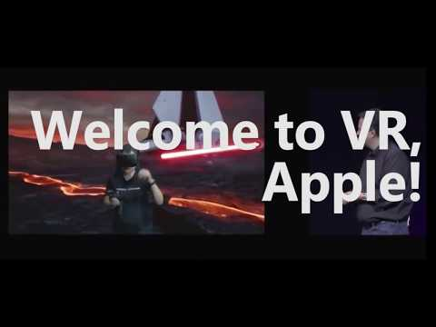 Welcome To VR, Apple! (WWDC 2017)