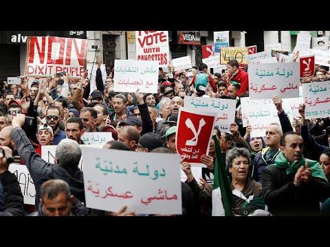 احتجاجات جديدة في الجزائر ضد الانتخابات الرئاسية  - نشر قبل 1 ساعة