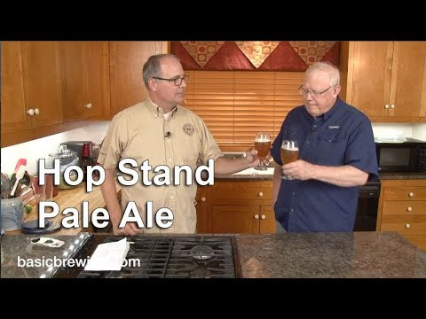 Hop Stand Cascade Pale Ale - Basic Brewing Video - September 22, 2017