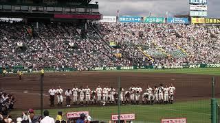 第99回全国高等学校野球選手権二回戦 明桜-二松学舎大付より.