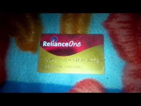 Reliance One Reward Membership Card