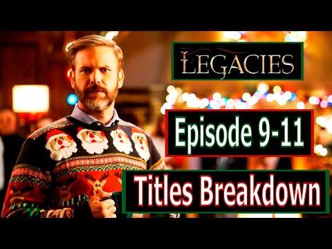 Legacies Season 2 Episode 9, 10 & 11 Titles Breakdown
