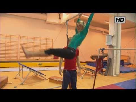 Therese Johaug - Exclusive: Acrobatics Session