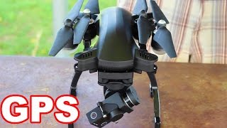 NEW GPS Drone - SIMTOO Dragonfly Drone Pro RTF Unboxing - TheRcSaylors
