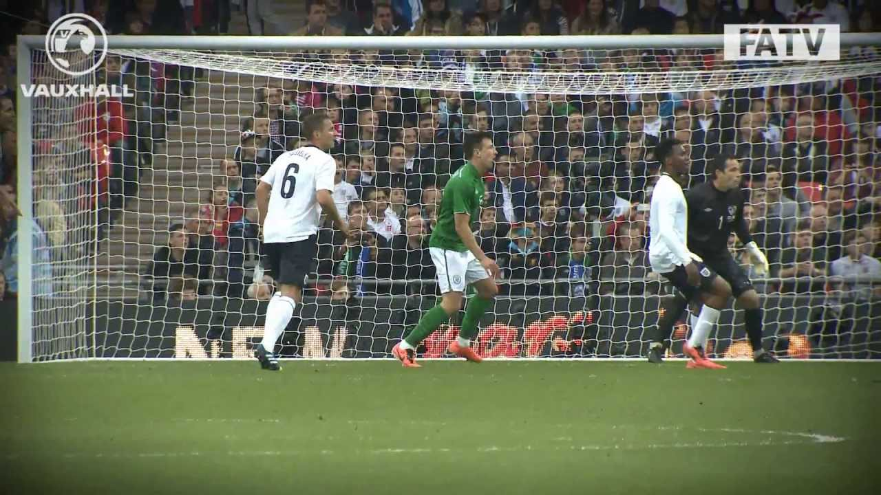 Download PITCH:CAM England vs Republic of Ireland 1-1, international friendly Wembley 2013