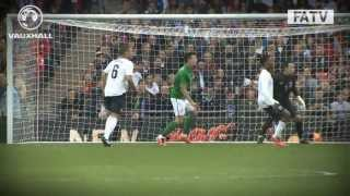 PITCH:CAM England vs Republic of Ireland 1-1, international friendly Wembley 2013