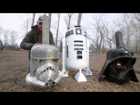 Star Wars-inspired fire pits help fight sister's Lyme disease
