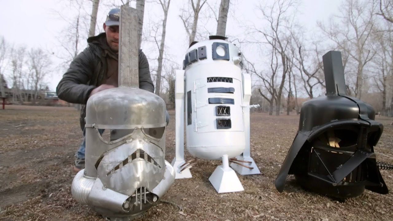 6675ba38aa167a Star Wars-inspired fire pits help fight sister s Lyme disease - YouTube
