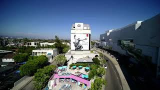 Sofitel L.A. filmed by a drone!
