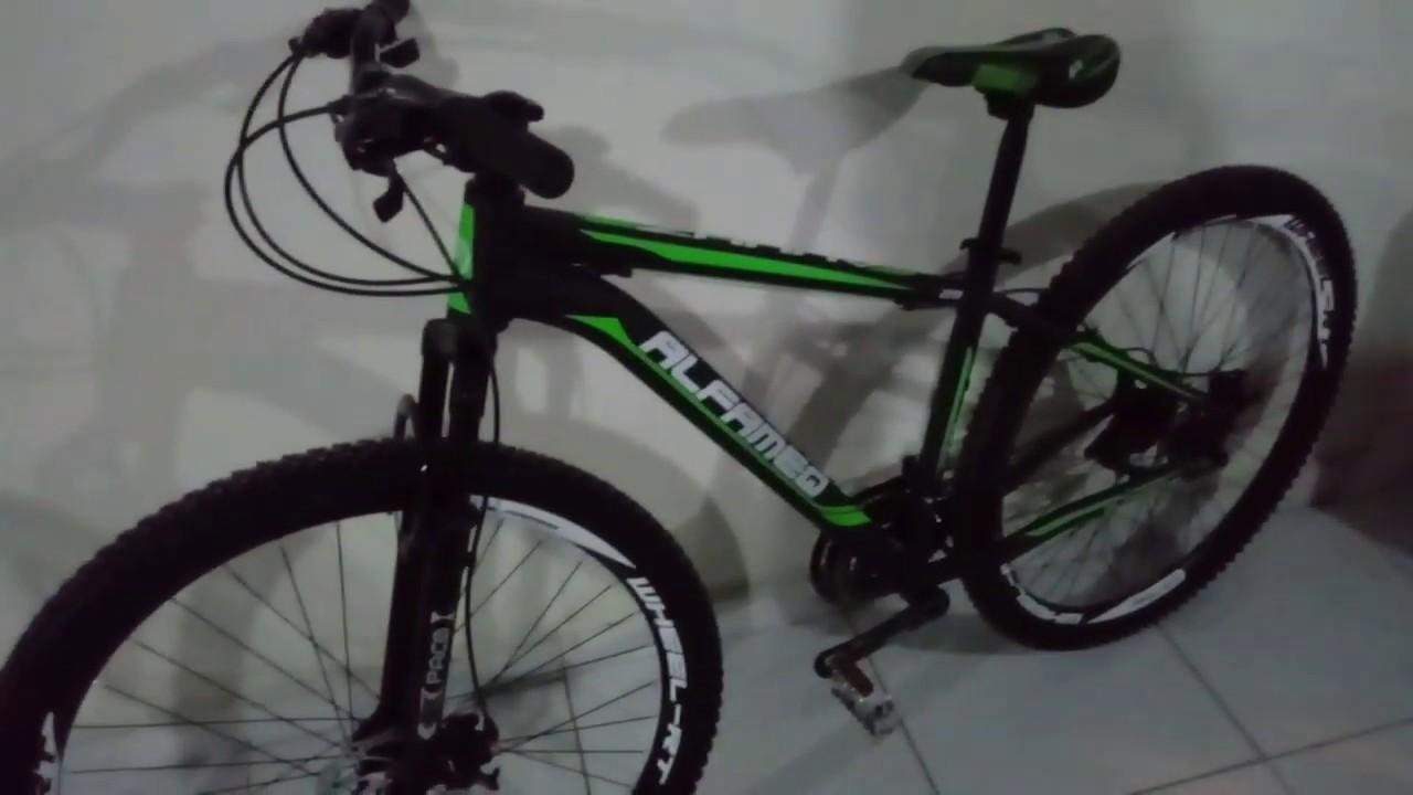 fa6fb8c76 Bike Alfameq Zahav 29 - Unbox - YouTube