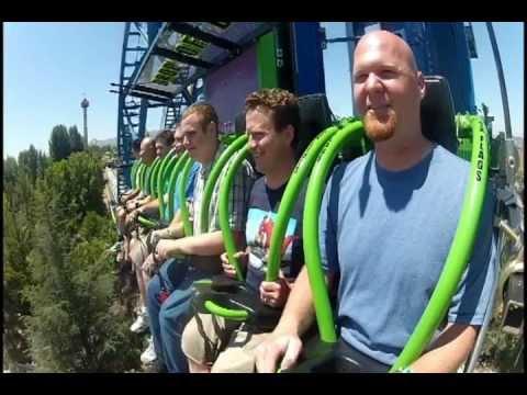 Lex Luthor: Drop of Doom at Six Flags Magic Mountain