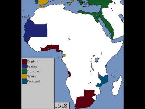 Alternate Colonization of Africa - (1400 - 1650)