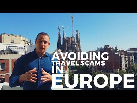 Avoiding travel scams in Europe